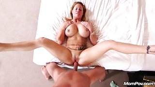 Nympho Big Boobs MILF gets Creampie