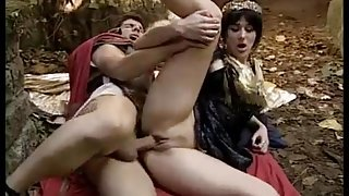 Ancient centurion fucking a courtesan in the wood by PacPac