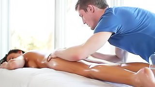 Massage her and penetrate her