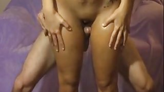 Curious Cristine - Fuck between thighs -