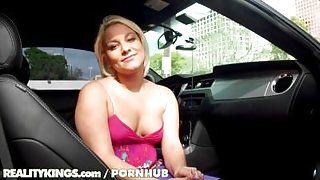 Reality Kings - Jenna Monroe sucks dick in the car