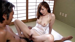Shihori Inamori in Cheating MILF Fucks Her Husband's Friend - MilfsInJapan