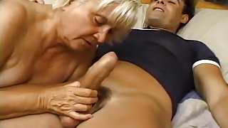 Very Hairy Granny Getting Pounded